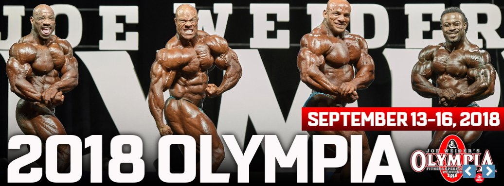 2018 Mr. Olympia Preview