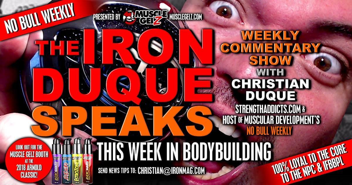The Iron Duque – Arnold on Bubble Guts / Luimarco / Bodybuilding (episode 1)