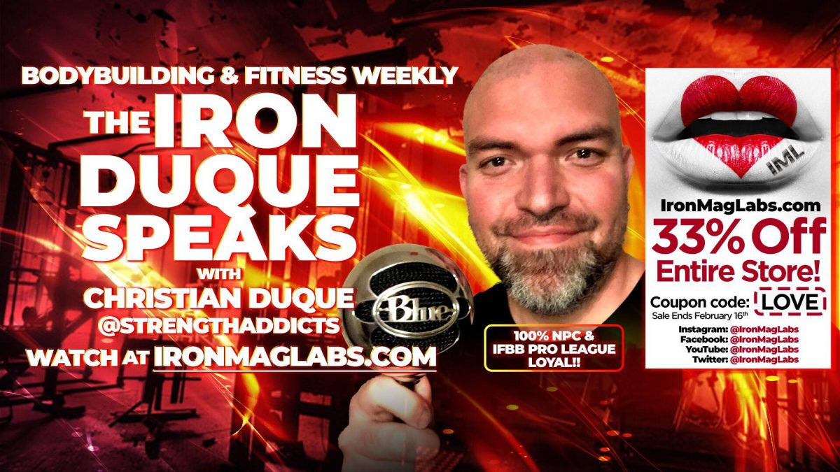 The Iron Duque Speaks – Tony Huge, Enhanced / Joseph Baena / Brandon Curry