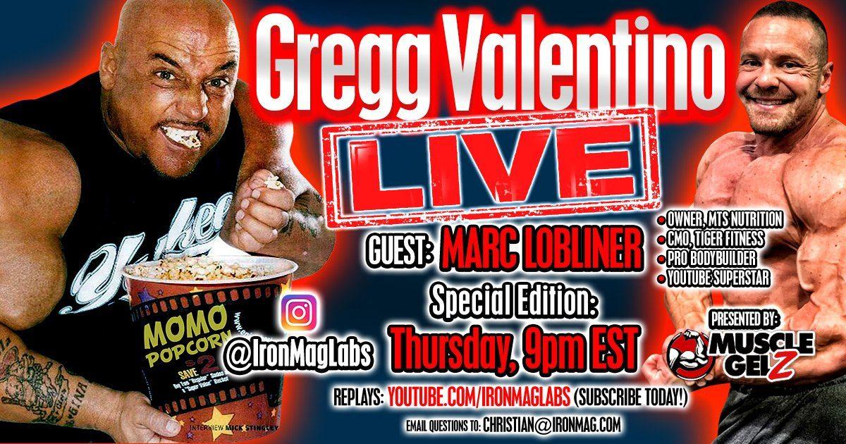 Gregg Valentino LIVE with Big Frank Budelewski