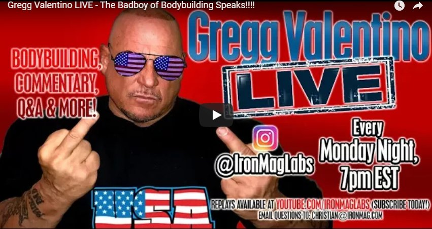 Gregg Valentino LIVE!! – Wheat Bread for Toilet Paper? / Jail Stories