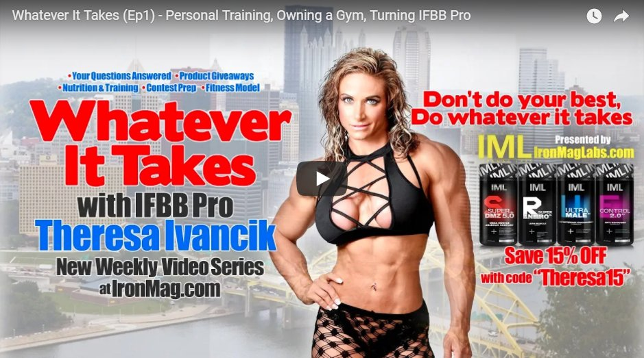 Whatever It Takes (Ep1) – Personal Training, Owning a Gym, Turning IFBB Pro