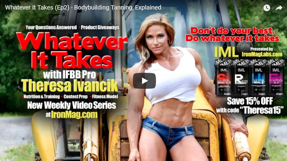 Whatever It Takes (Ep2) – Bodybuilding Tanning, Explained