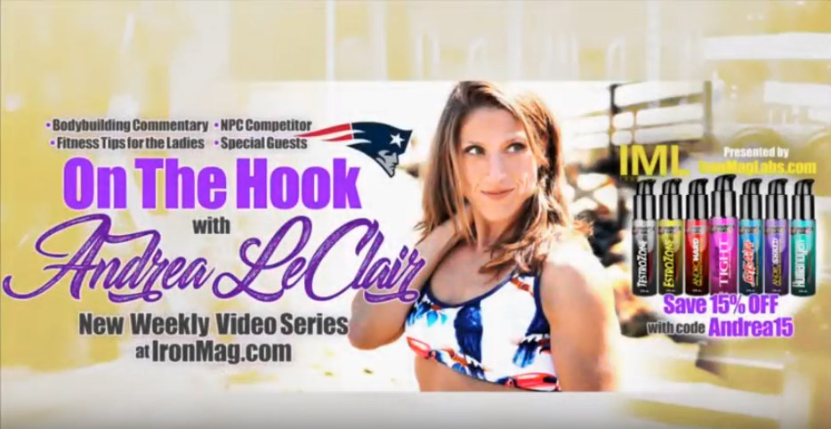 Andrea LeClair Interviews New, IFBB Pro Danielle Barros