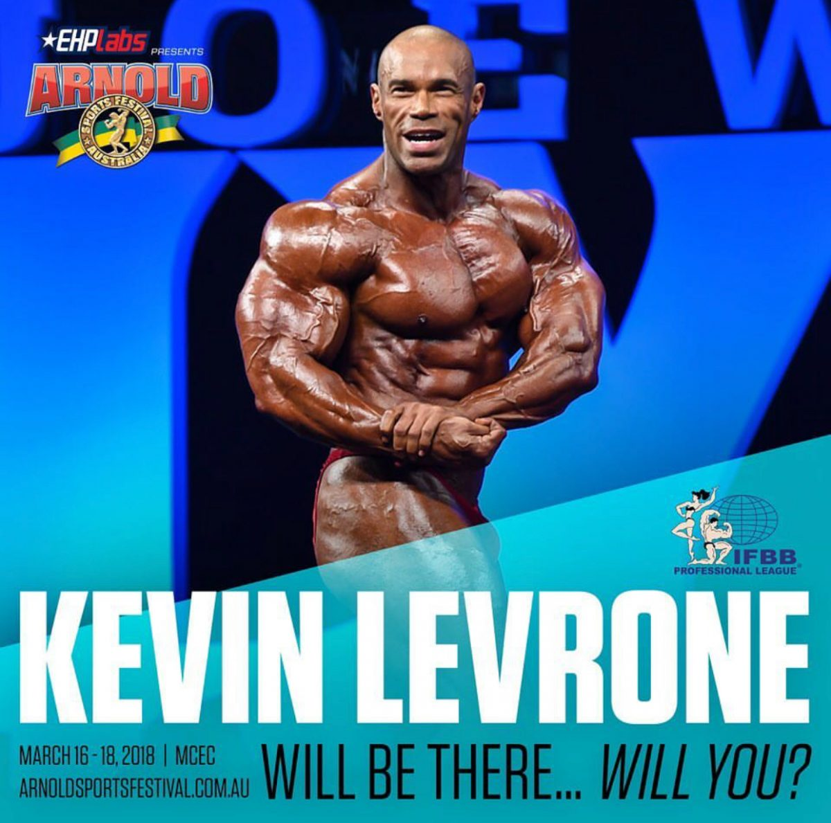 Cedric McMillan FTW Arnold Classic / Kevin Levrone HUGE!
