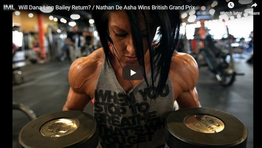 Will Dana Linn Bailey Return? / Nathan De Asha Wins British Grand Prix