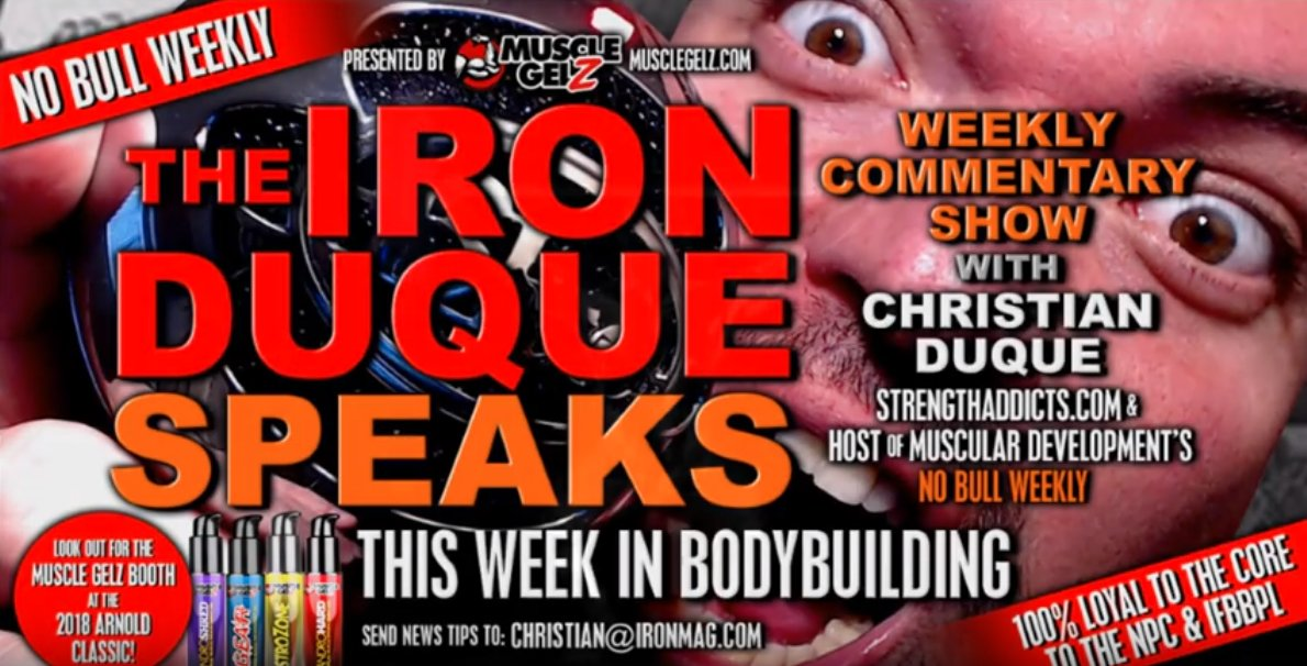 Kevin Levrone Australia / Arnold Fights Oil / Big Frank Signs with IML