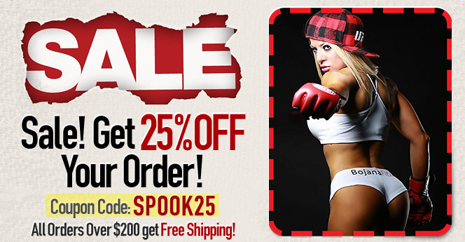 Use Coupon Code SPOOK25 for 25% Discount!