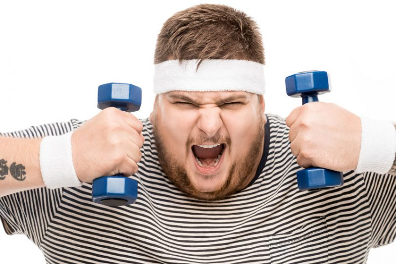 Benefits of Swearing Loudly While Working Out at the Gym