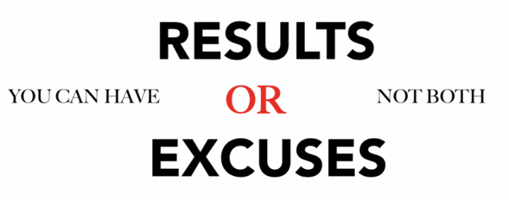 Your Excuses Show Your Lack of Prioritization