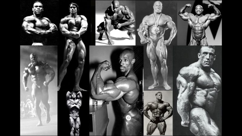 How Do Today's Bodybuilders Compare to the 90's